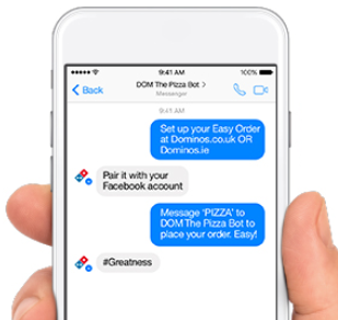 Dom The Pizza Chat Bot