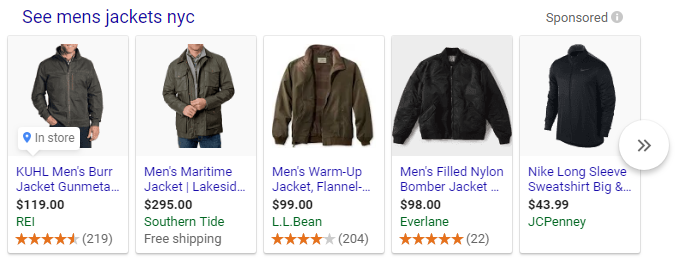 Mens Jackets in NYC
